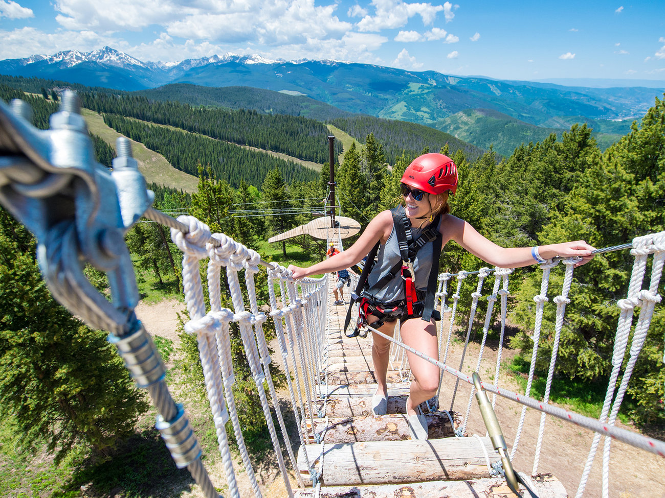 Epic Discovery Canopy Tour in Vail