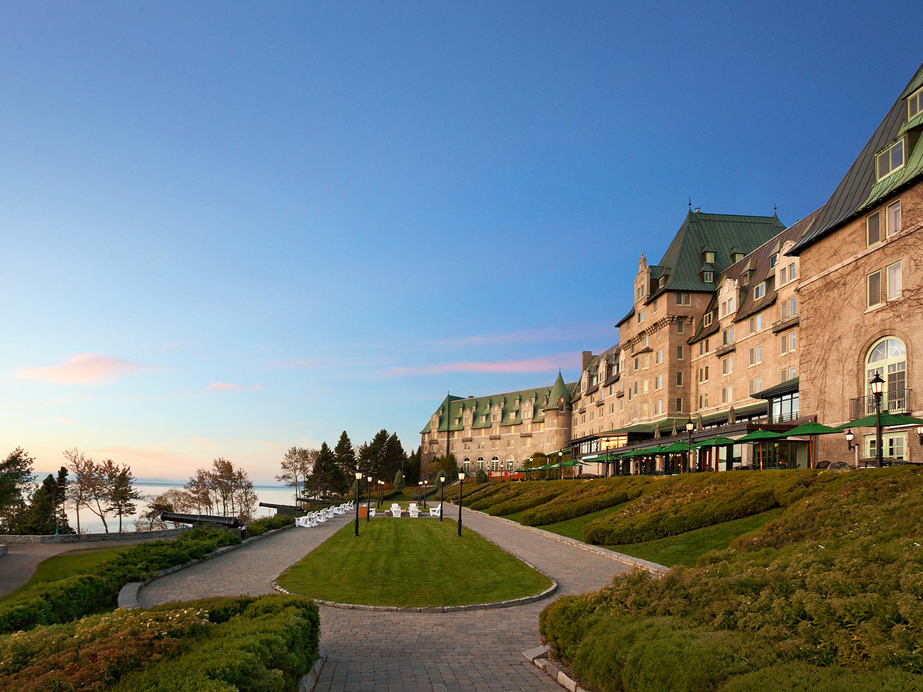 Fairmont Le Chateau Frontenac Hotel in Quebec City