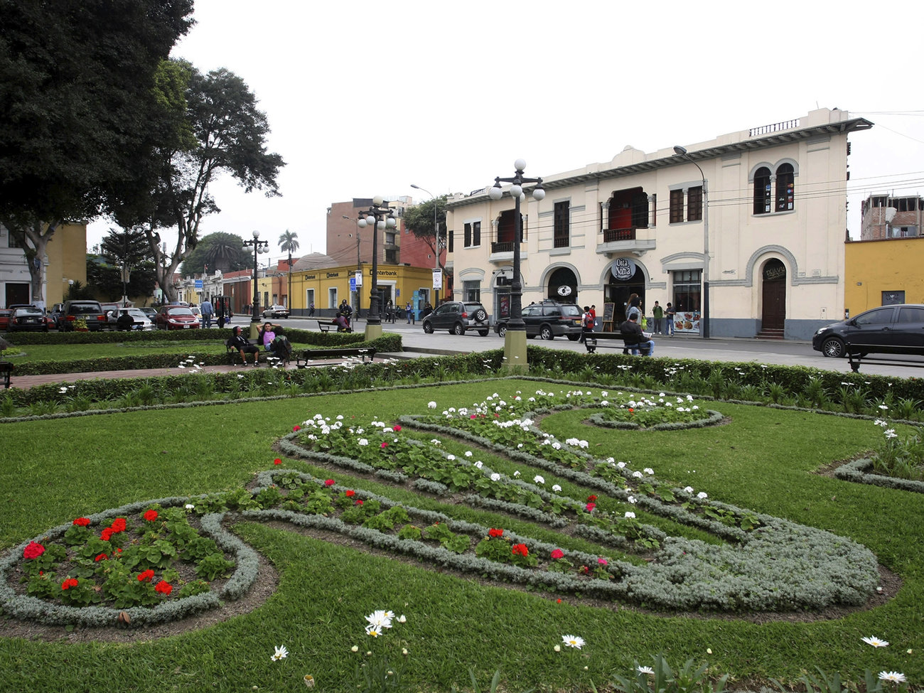 Barranco Neighborhood in Lima