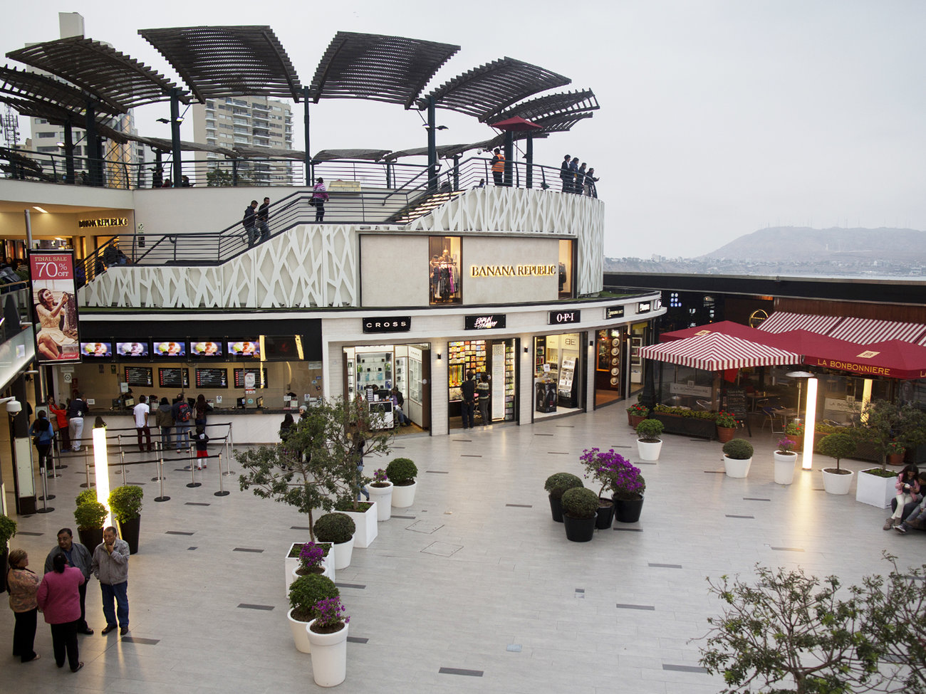 Larcomar Mall in Lima