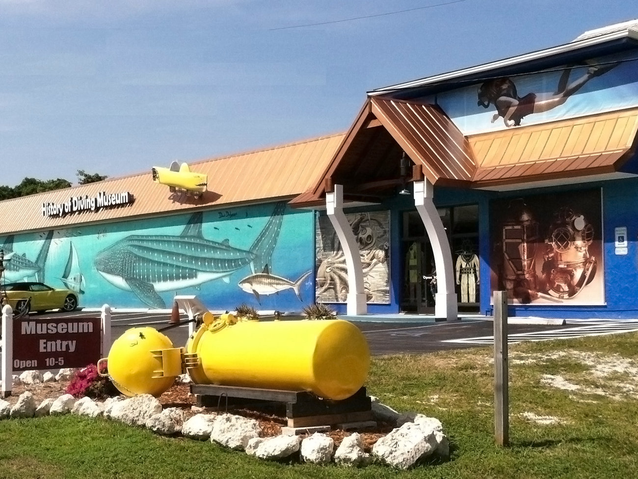 History of Diving Museum in Florida Keys