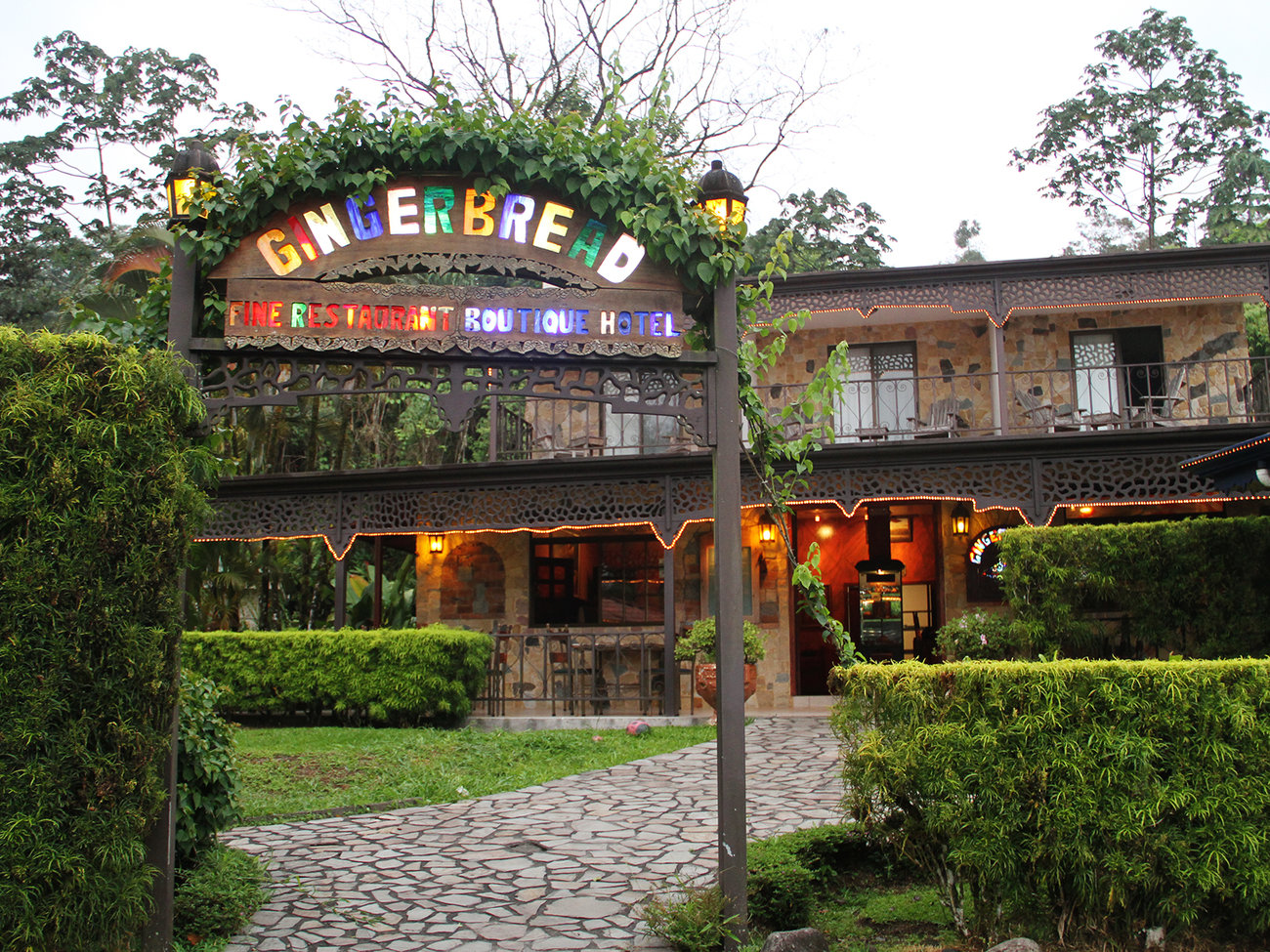 Gingerbread Fine Restaurant in Costa Rica