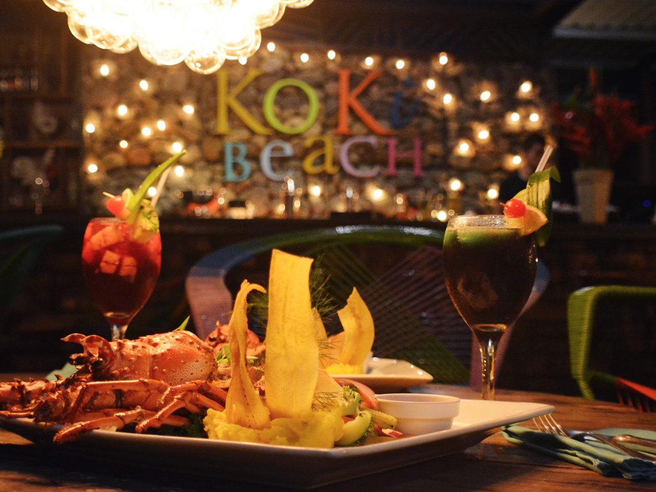 Koki Beach Bar in Costa Rica