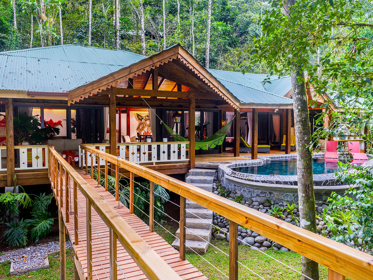 Pacuare Lodge Hotel in Costa Rica