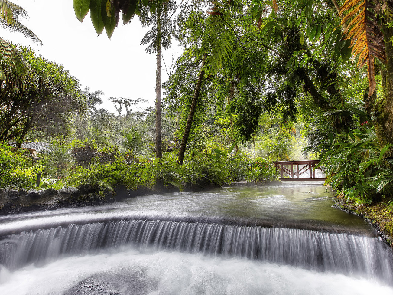 Tabacon Hot Springs in Costa Rica