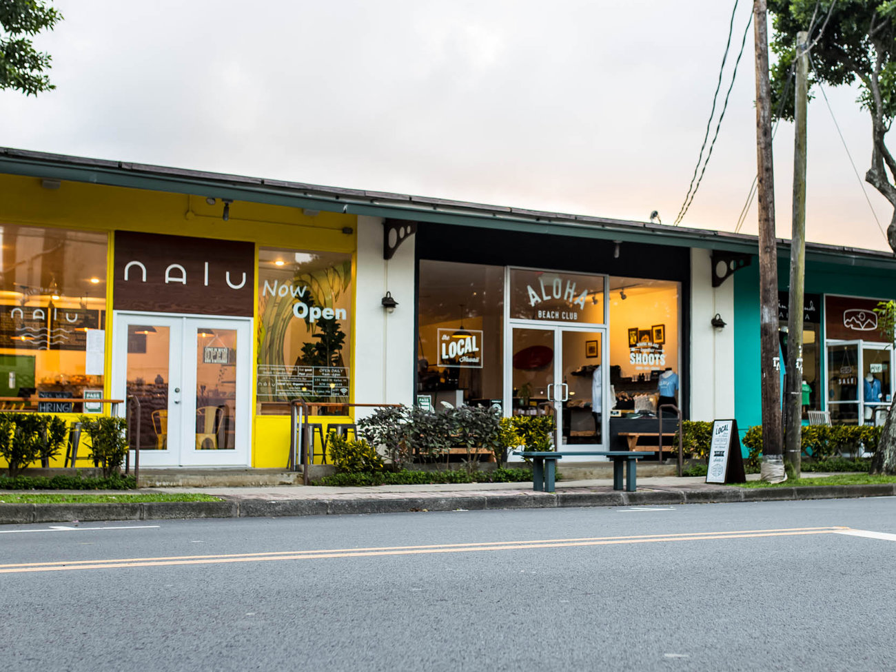 Aloha Beach Club Store in Oahu