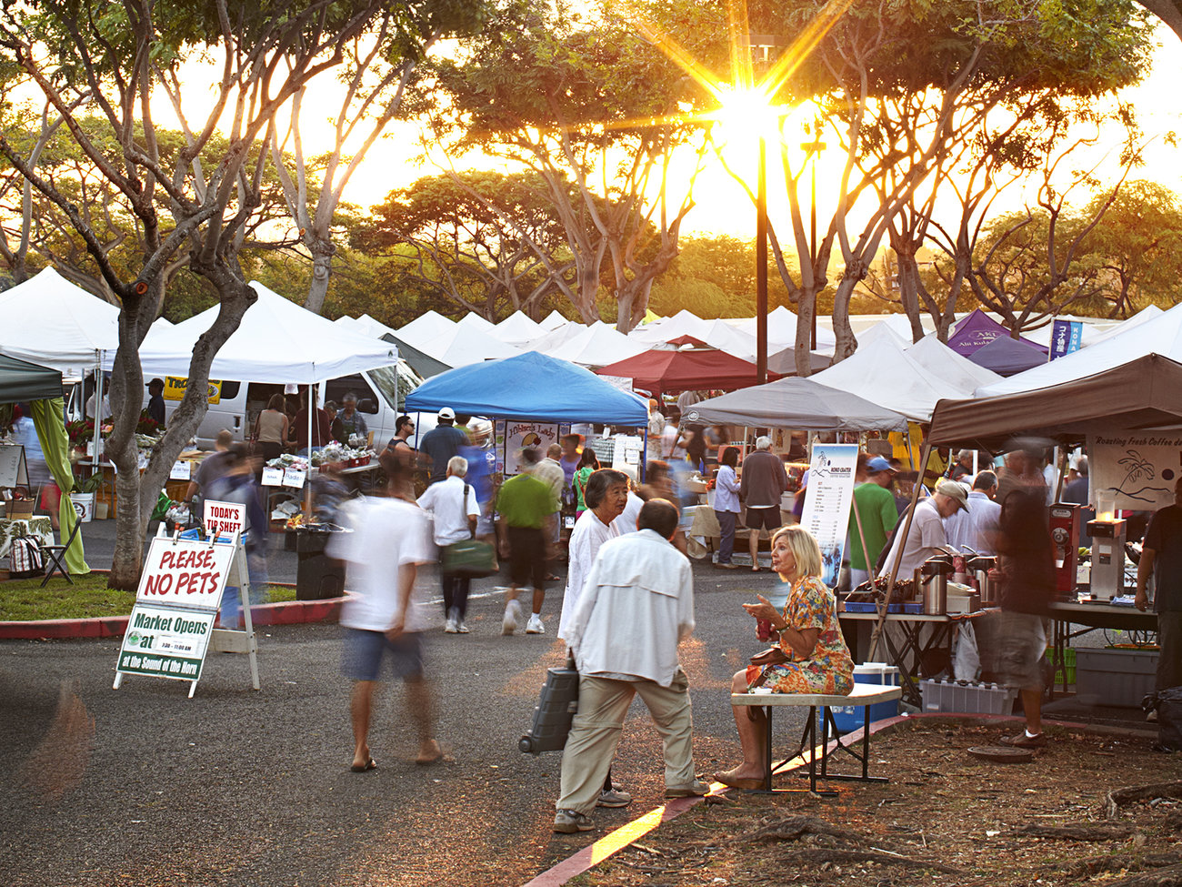KCC Farmer's Market in Oahu