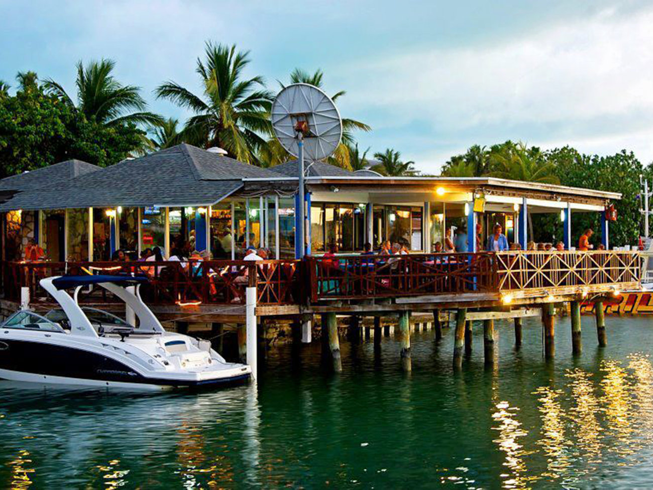 Sharkbite Bar in Turks and Caicos
