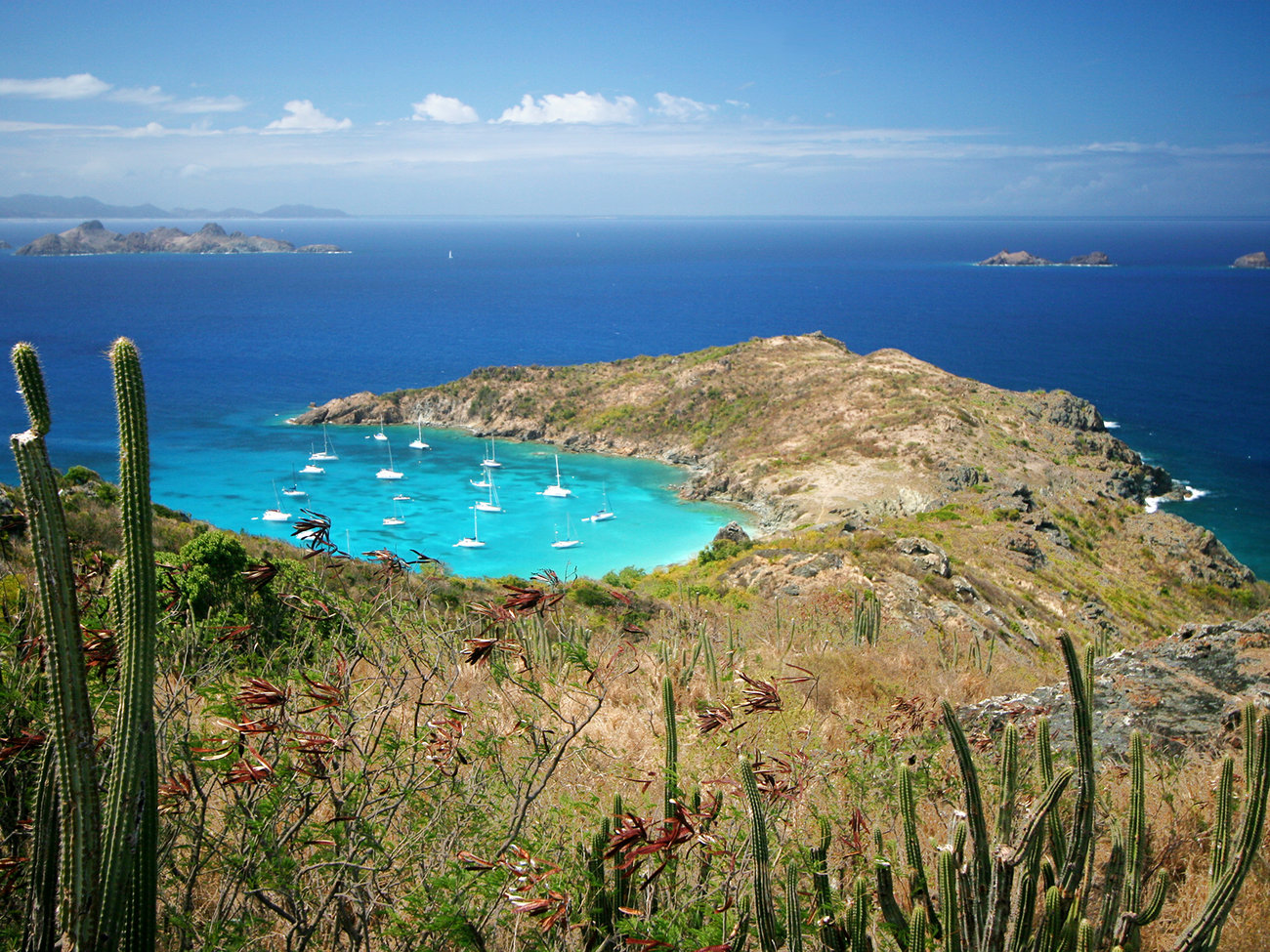 Anse de Colombier Beach in St. Barts