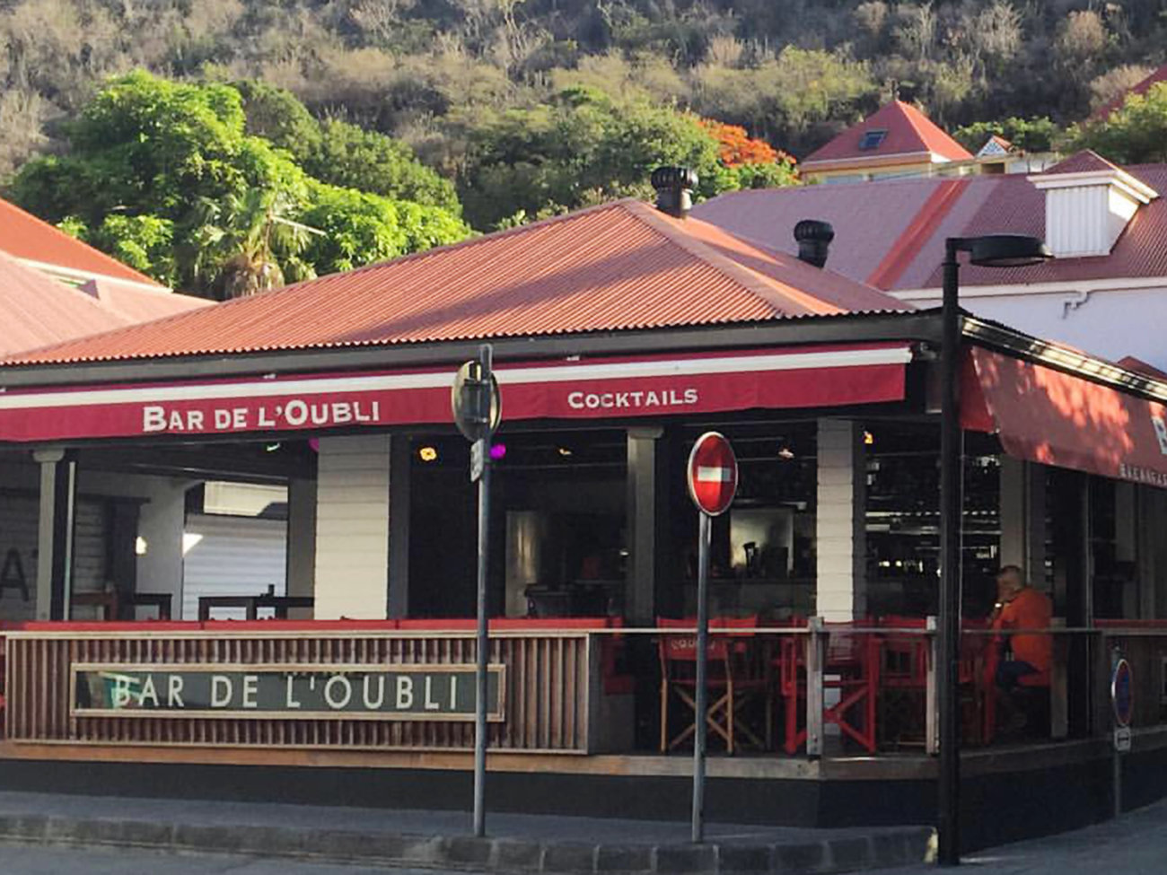 Bar de L'Oubli in St. Barts