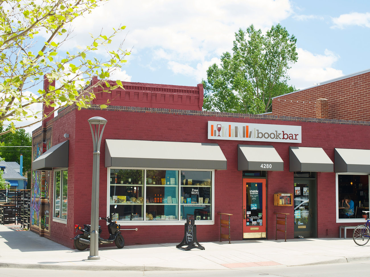 BookBar Bookstore and Wine Bar in Denver