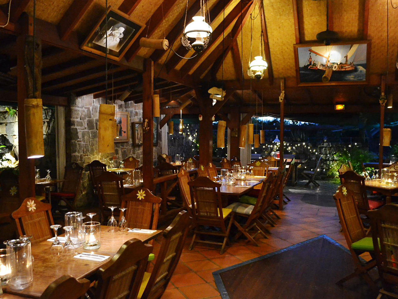 Eddy's Restaurant in St. Barts