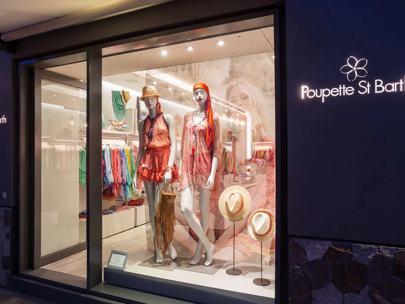 Poupette Clothing Store in St. Barts