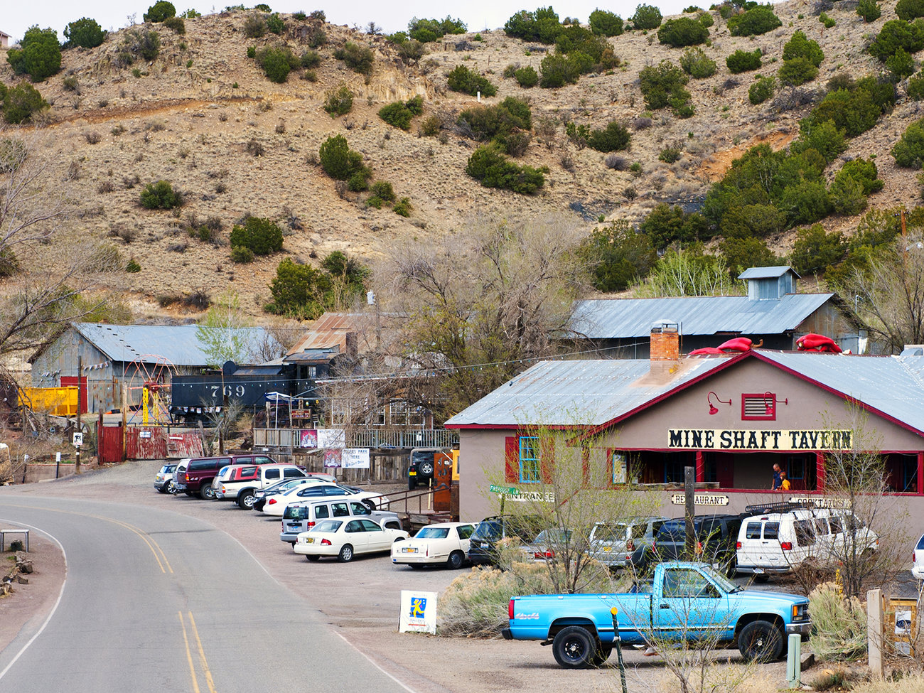 Madrid Town near Santa Fe New Mexico