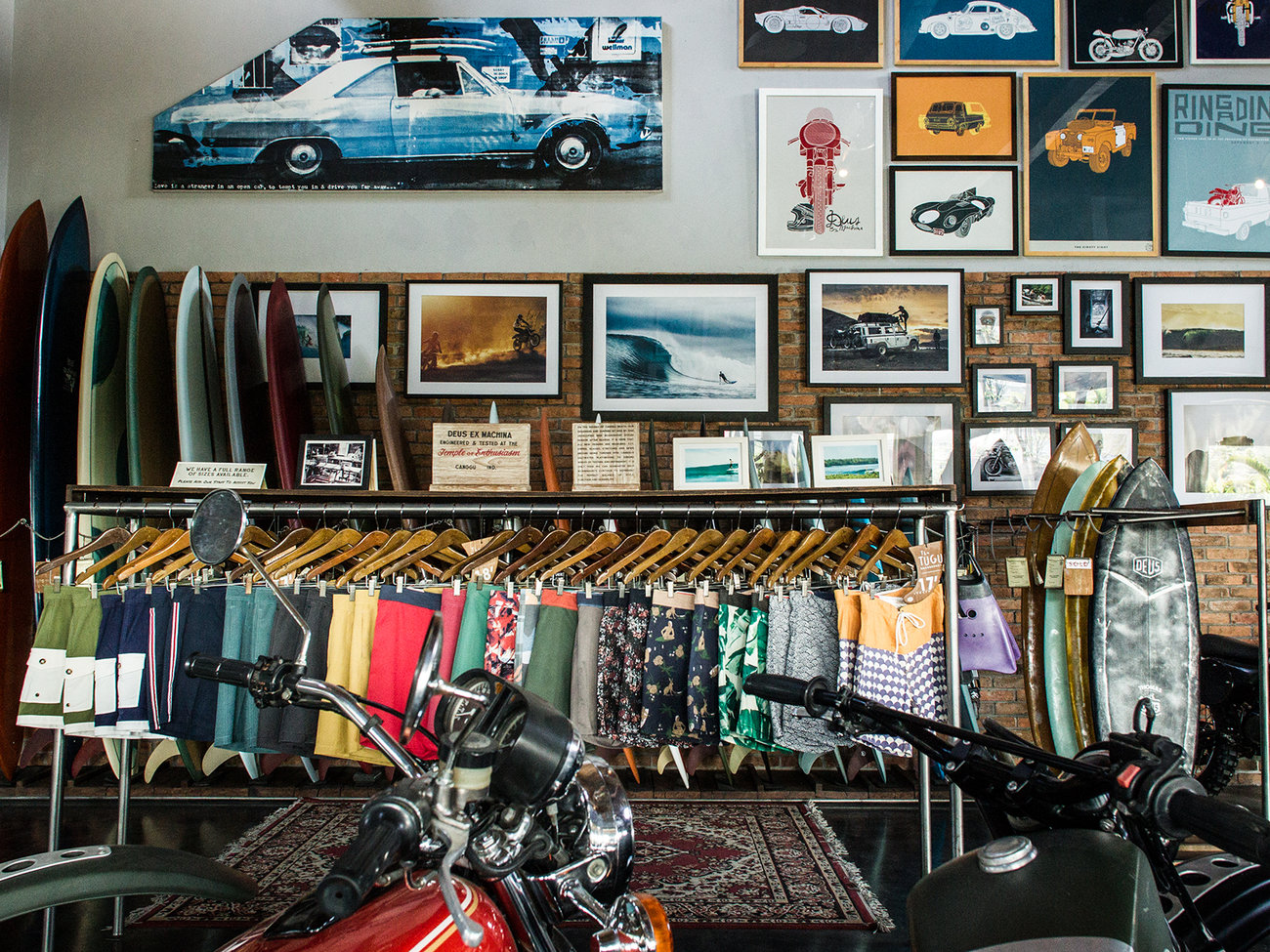 Deus Ex Machina Store in Bali