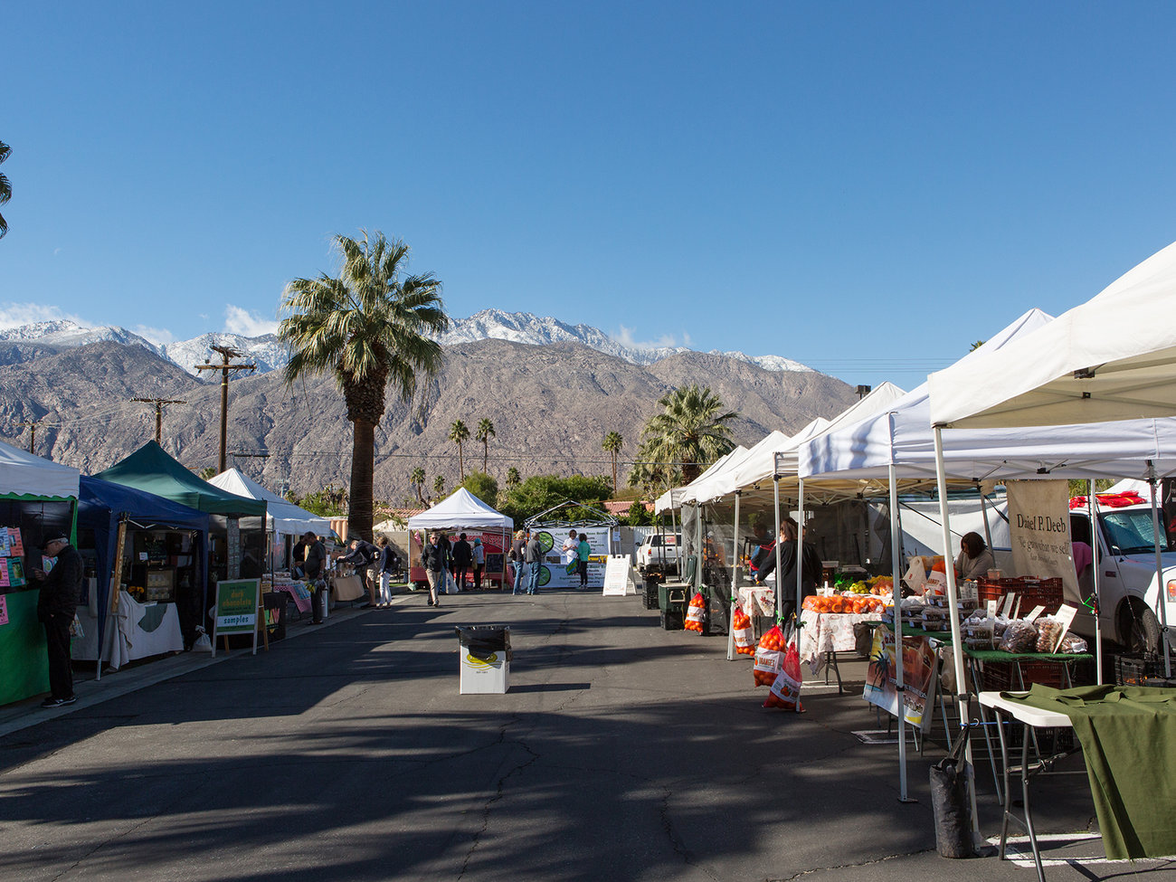 Certified Farmers Market in Palm Springs