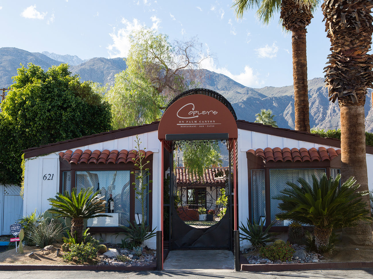 Copley's on Palm Canyon Restaurant in Palm Springs