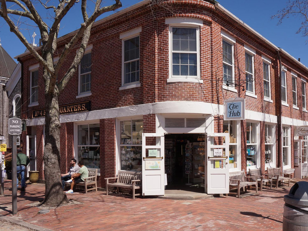 The Hub Store in Nantucket