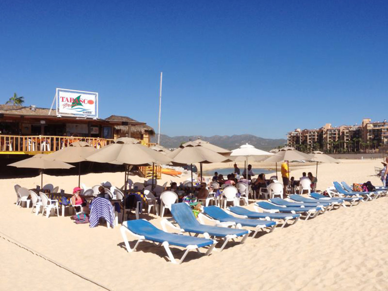Tabasco Beach Restaurant in Los Cabos