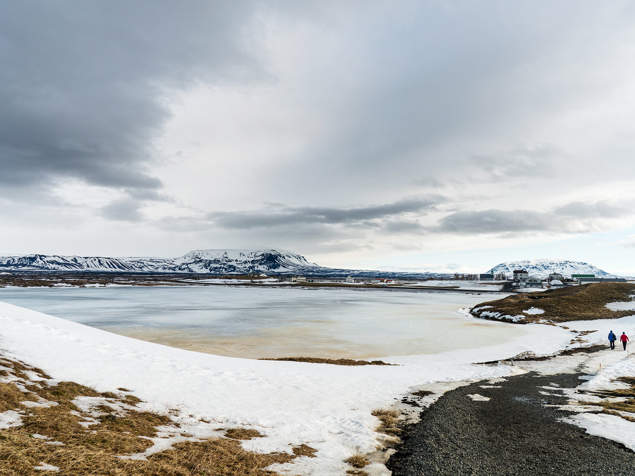 Lake Myvatn in Iceland