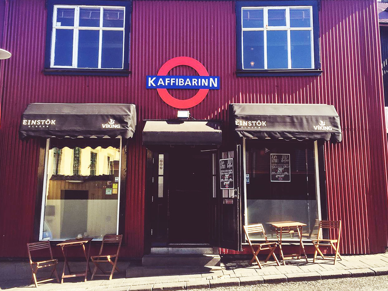 Kaffibarinn Bar in Iceland