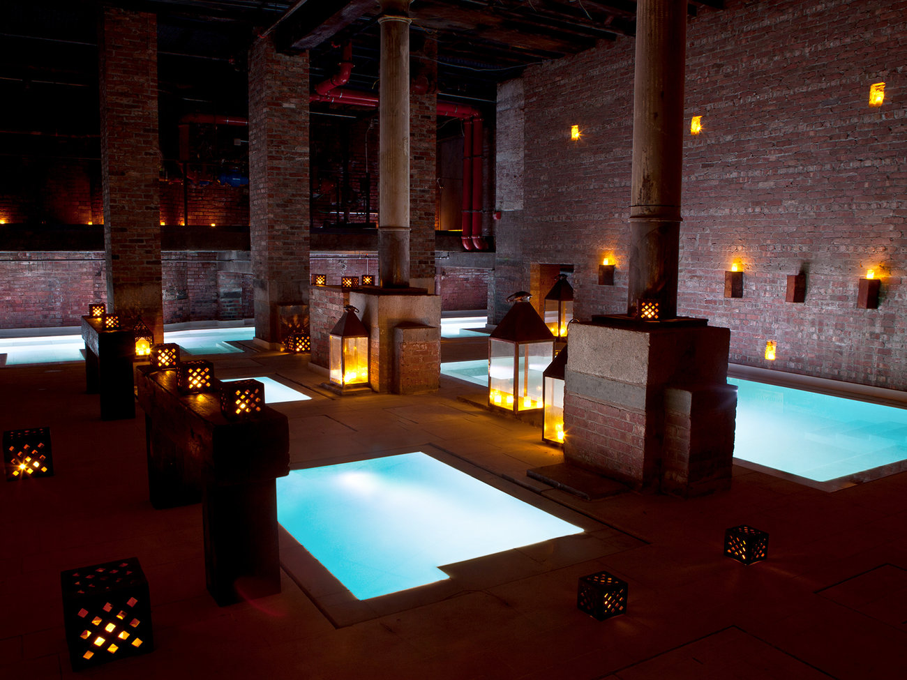 AIRE Ancient Baths in Manhattan NYC