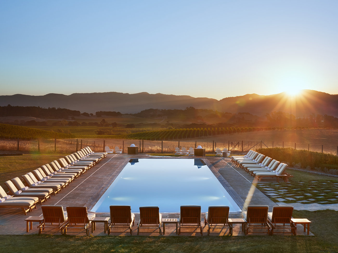 The Carneros Resort & Spa Hotel in Napa