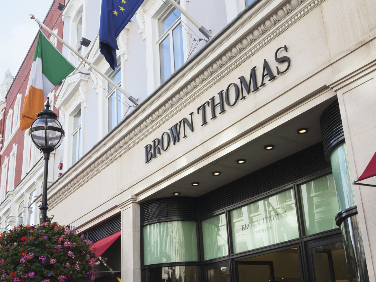 Brown Thomas Department Store in Dublin