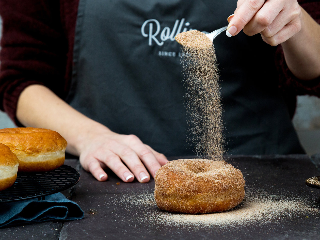 Rolling Donut Cafe in Dublin