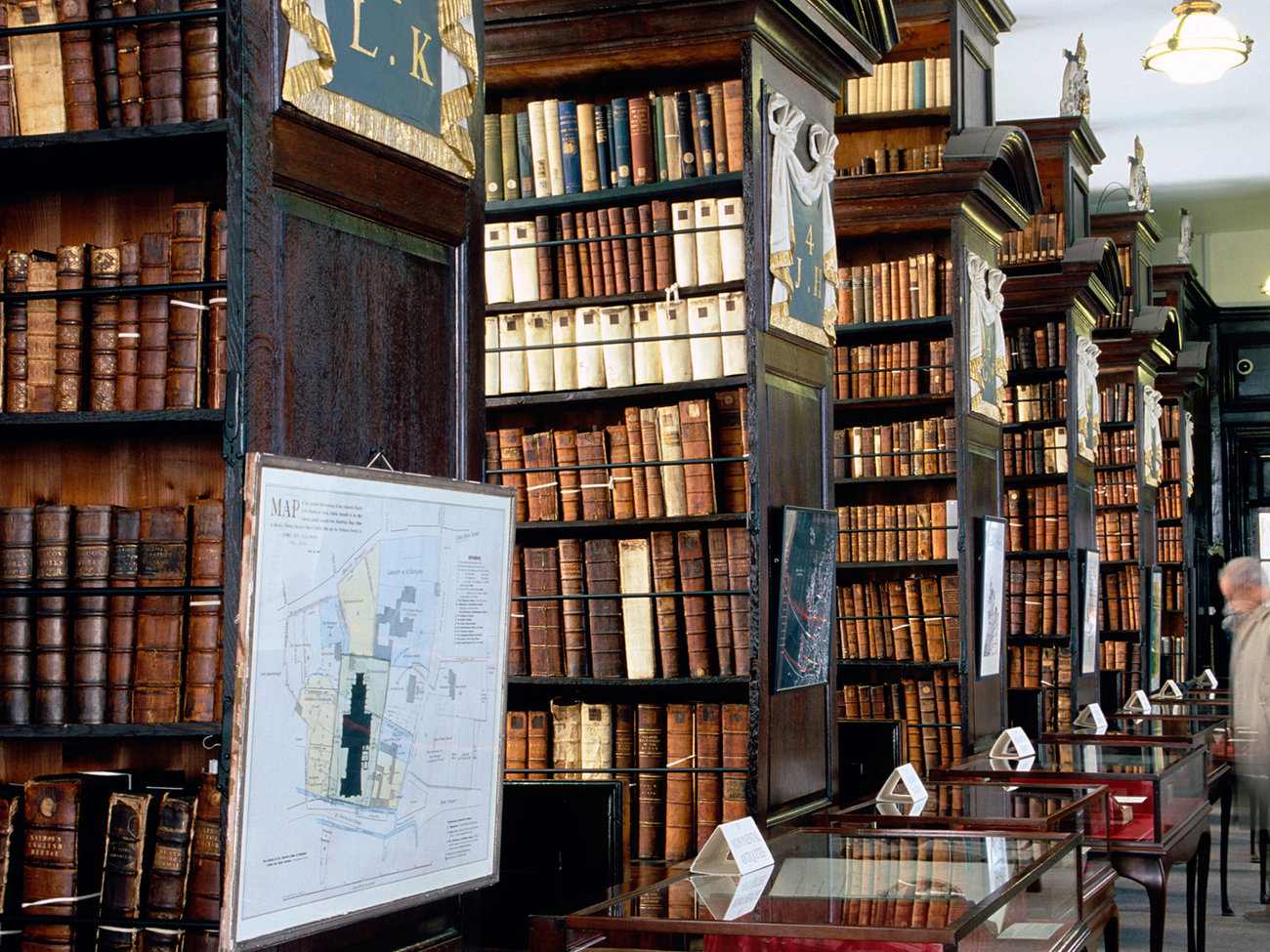 Marsh's Library in Dublin