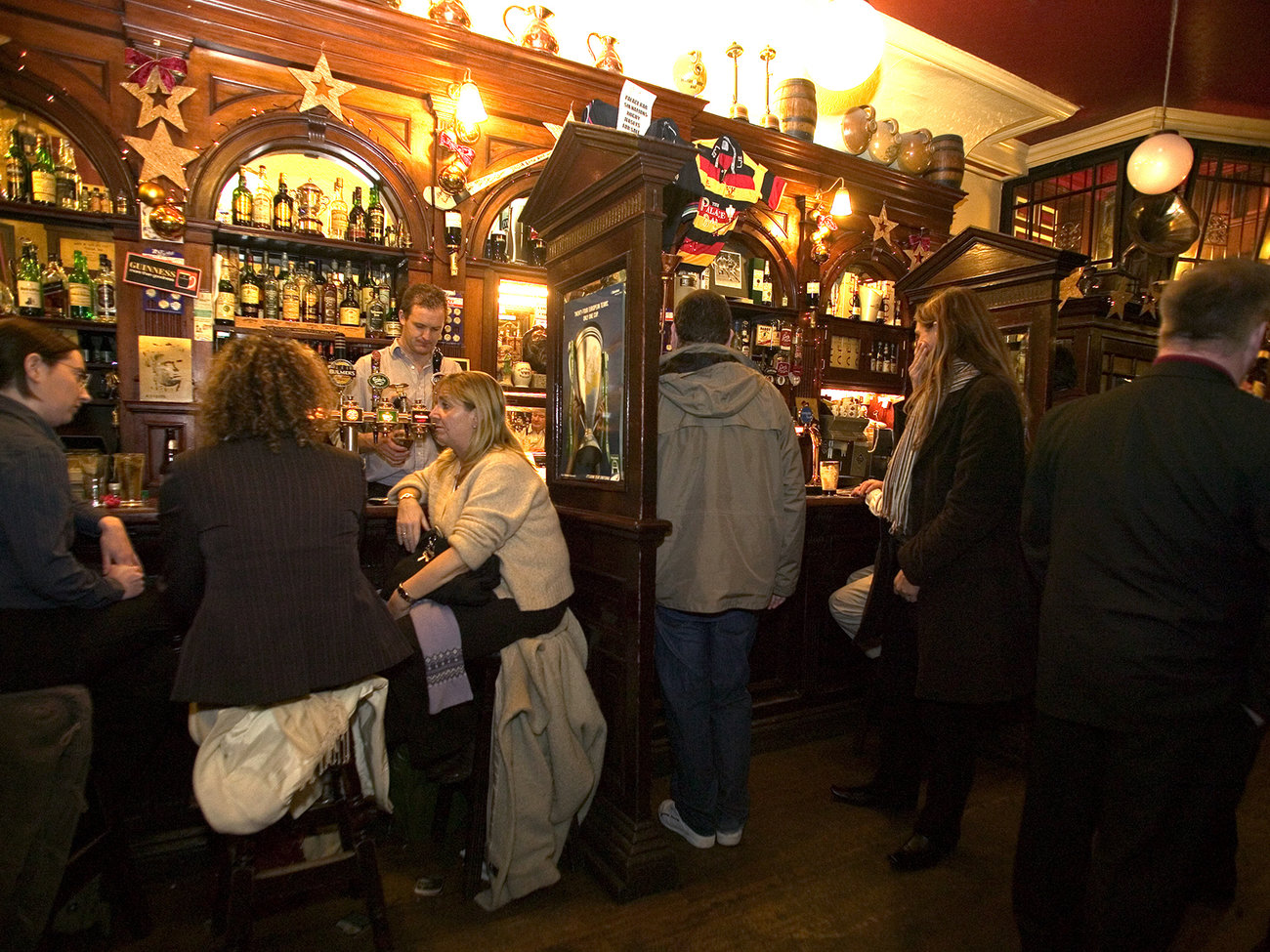 The Palace Bar in Dublin