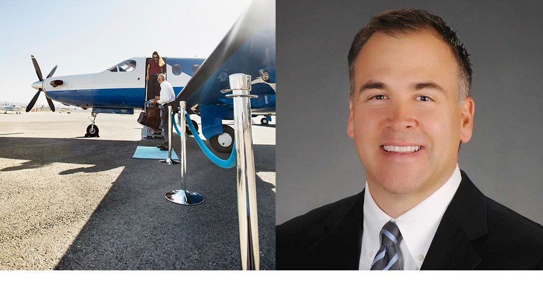 Private jet travel with travel agent Chad Clark