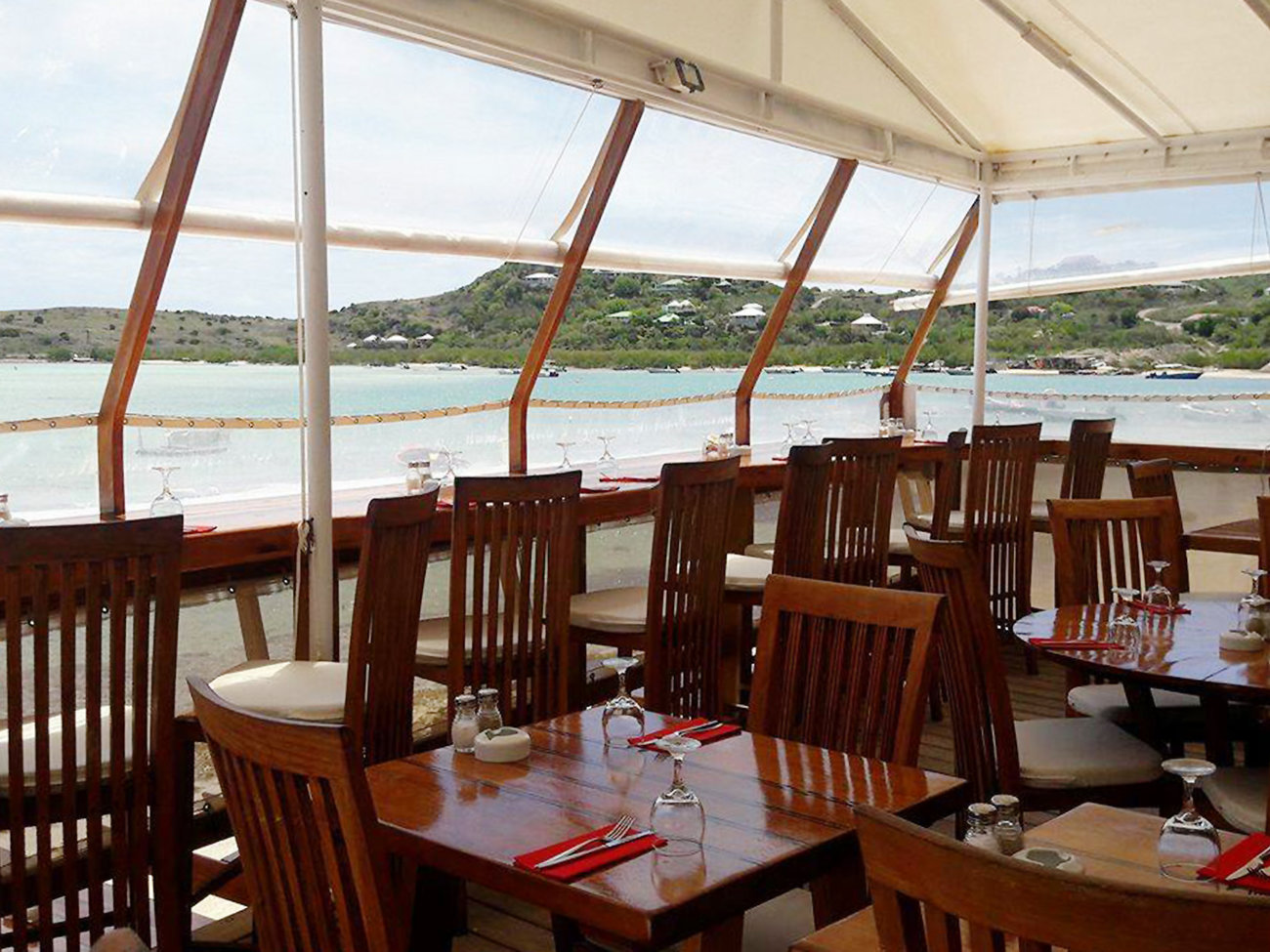 O'Corail Restaurant in St. Barts