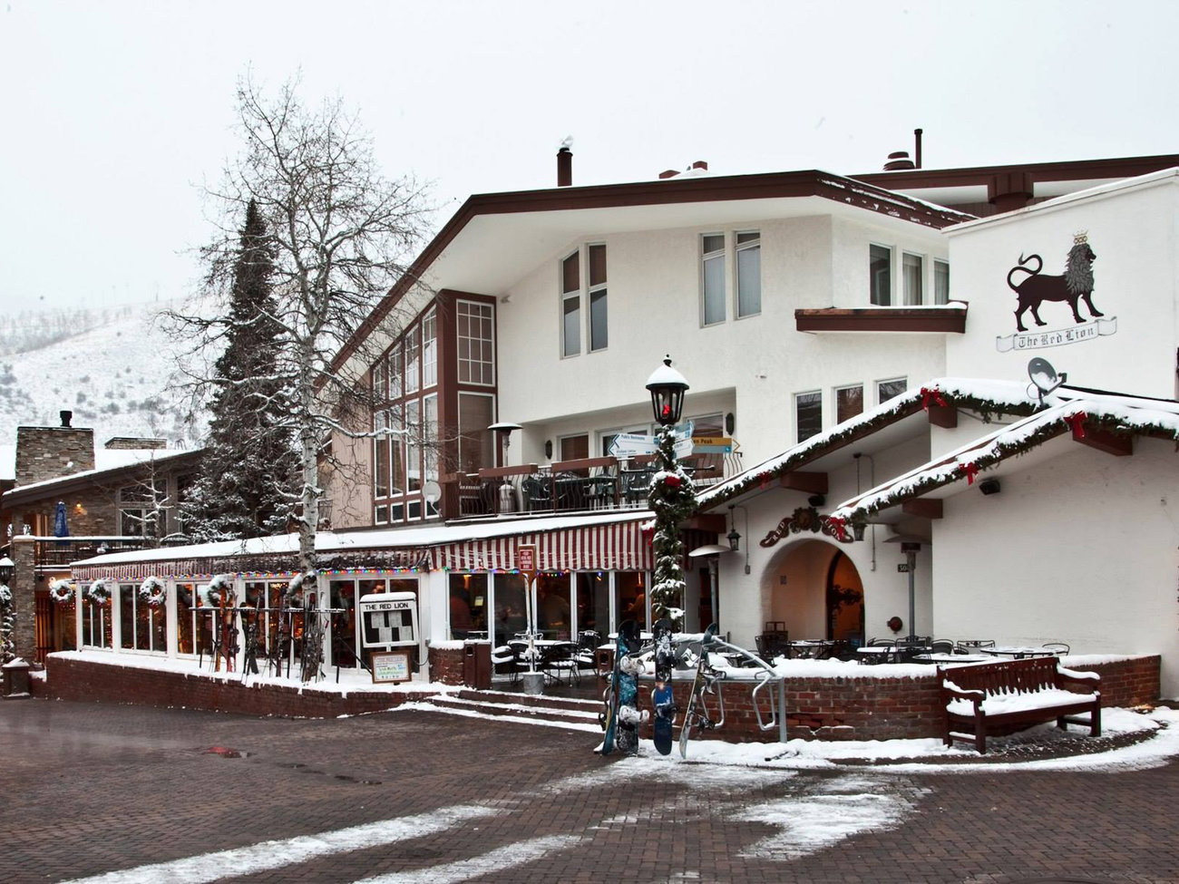 The Red Lion Bar in Vail