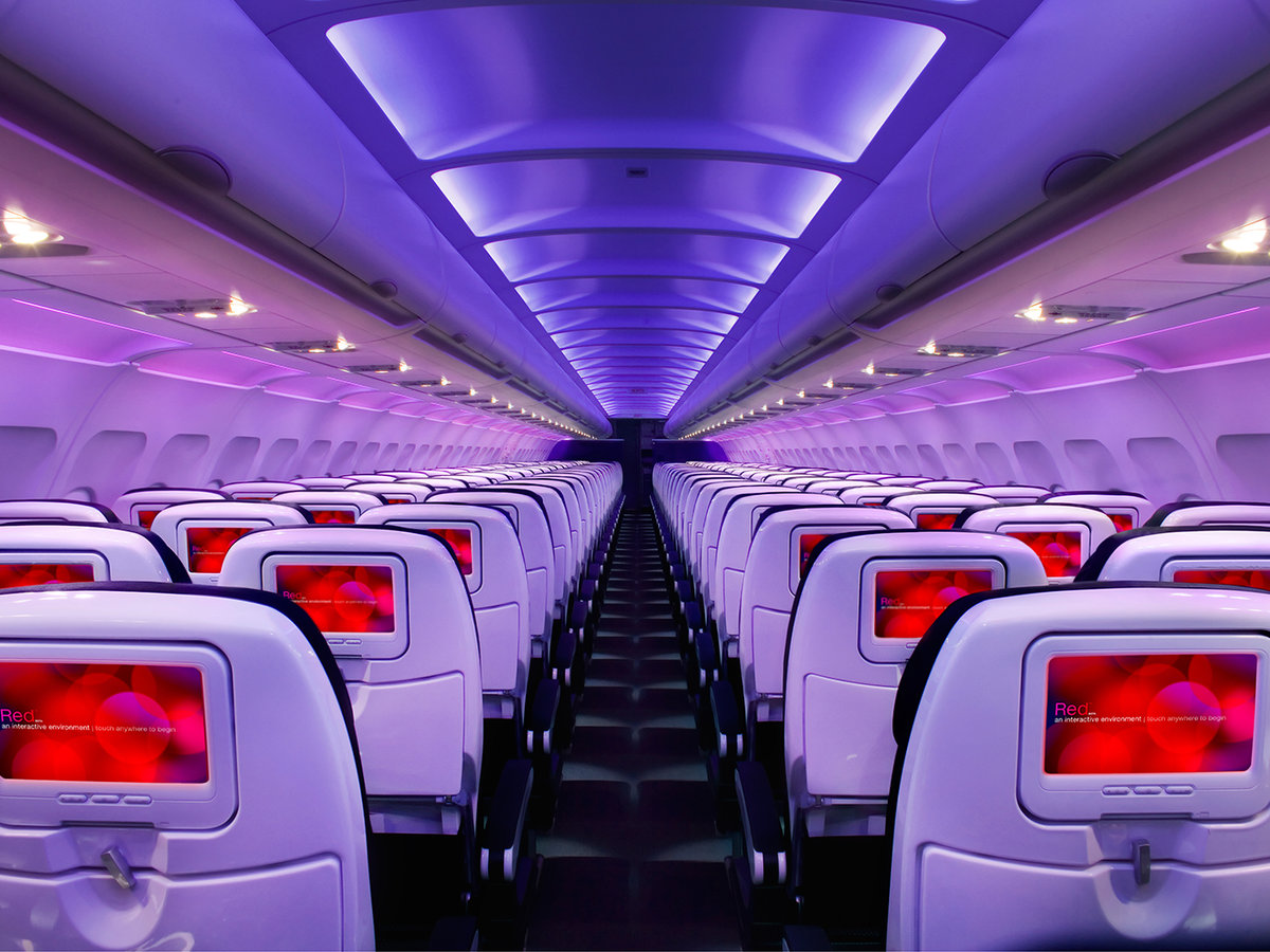 Virgin America seats