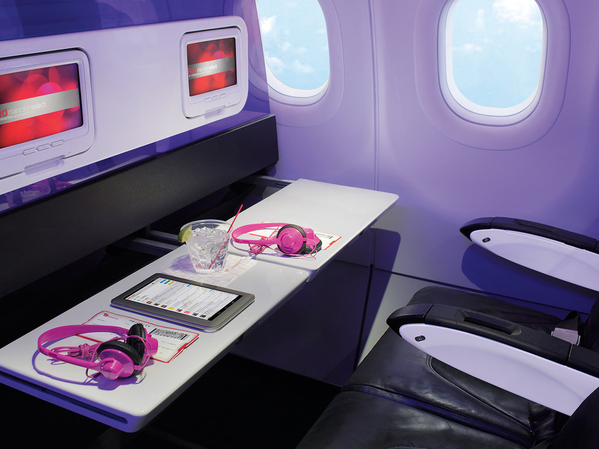 Virgin America inflight experience