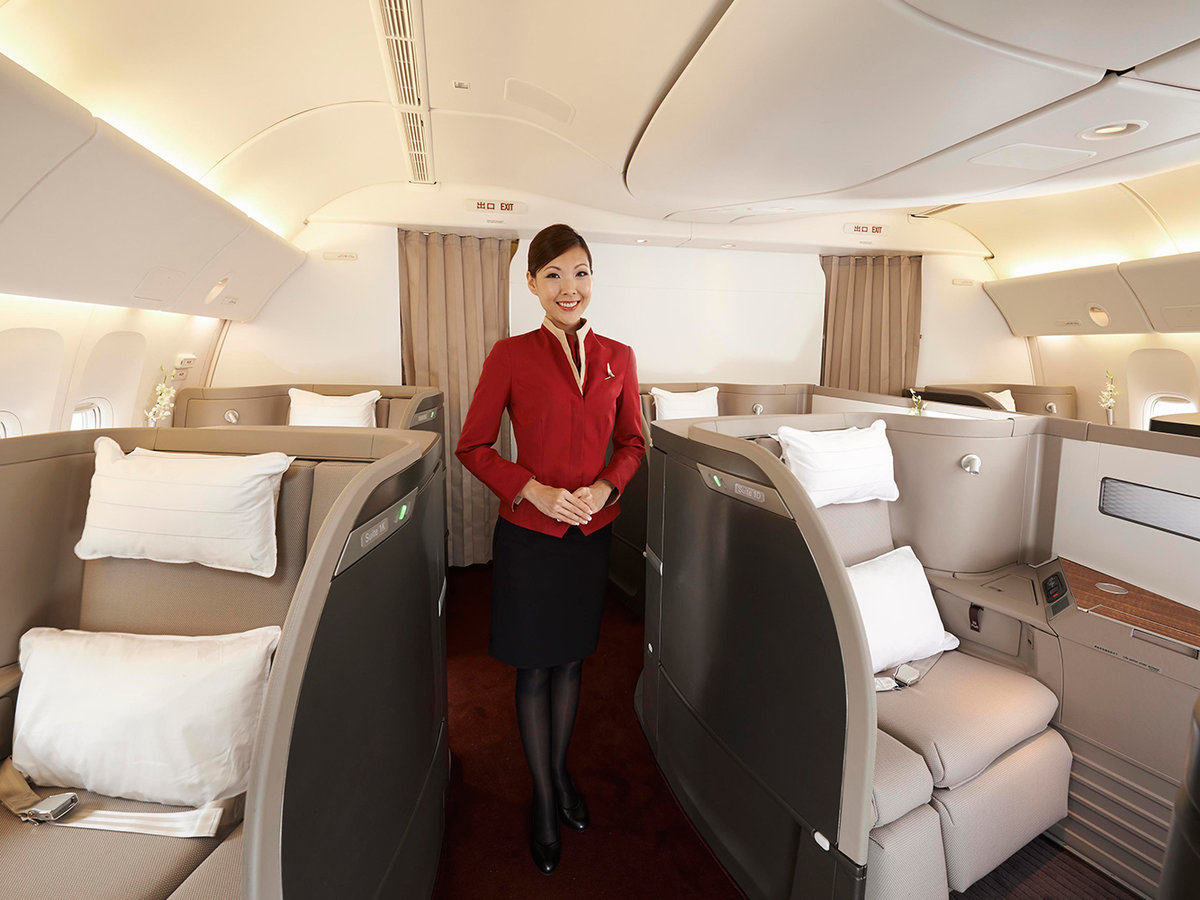 Cathay Pacific First Class seats