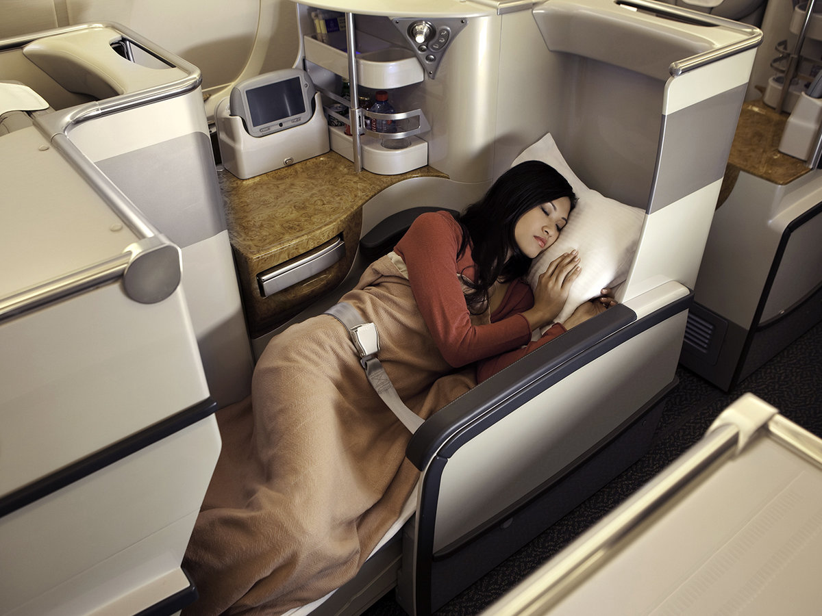 Emirates In flight experience