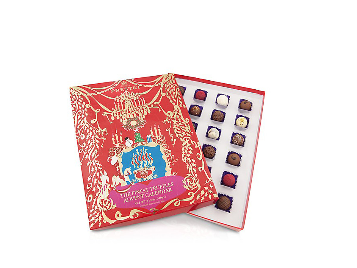 Prestat truffles advent calendar