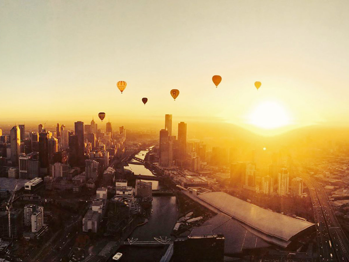 Global Ballooning in Melbourne