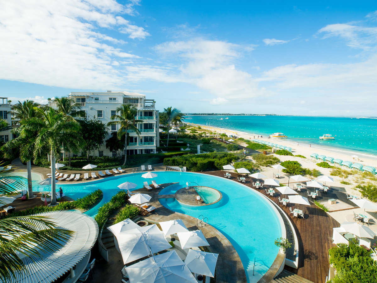 The Palms Hotel in Turks and Caicos