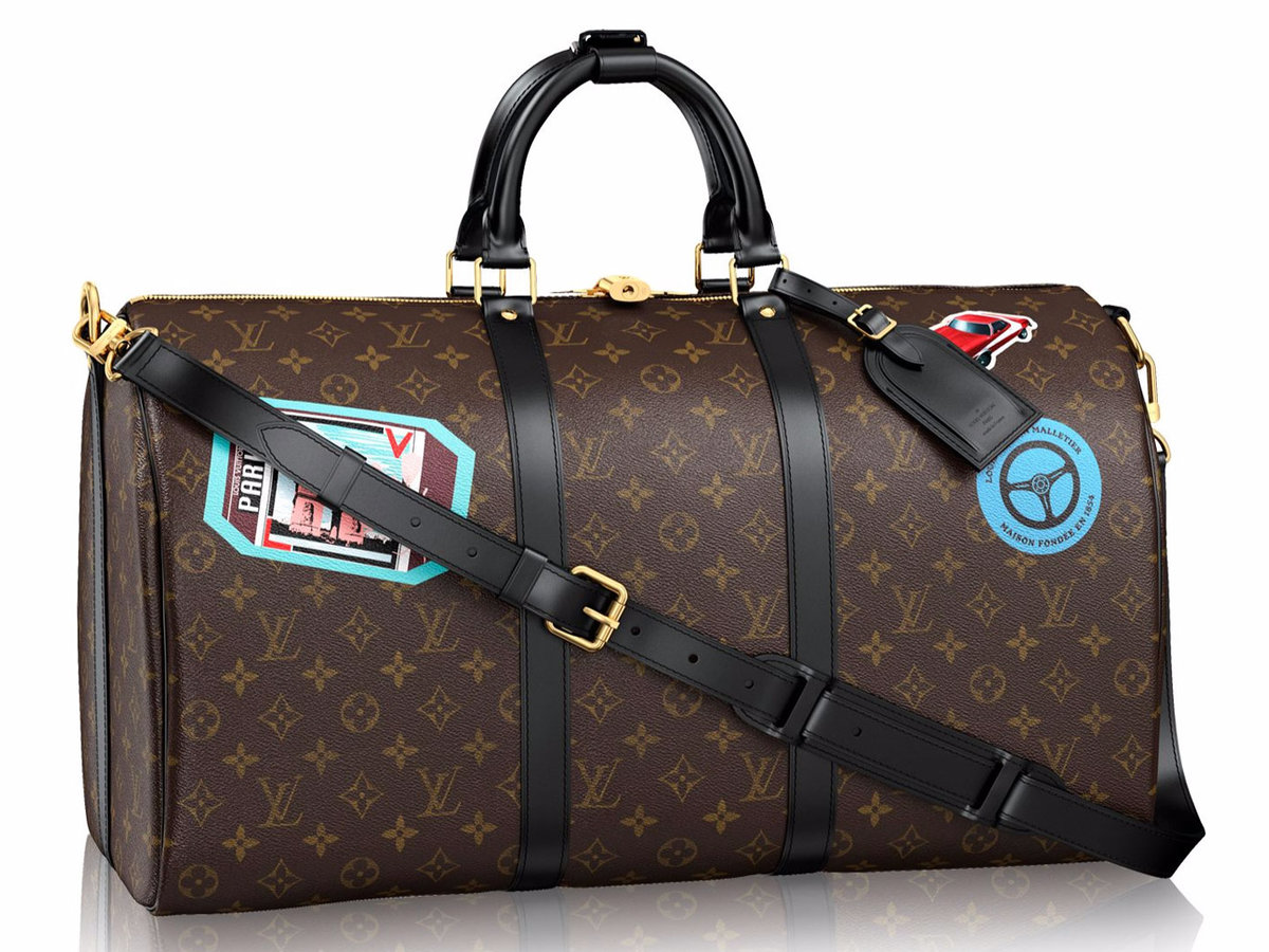 Louis Vuitton Personalization Keepall