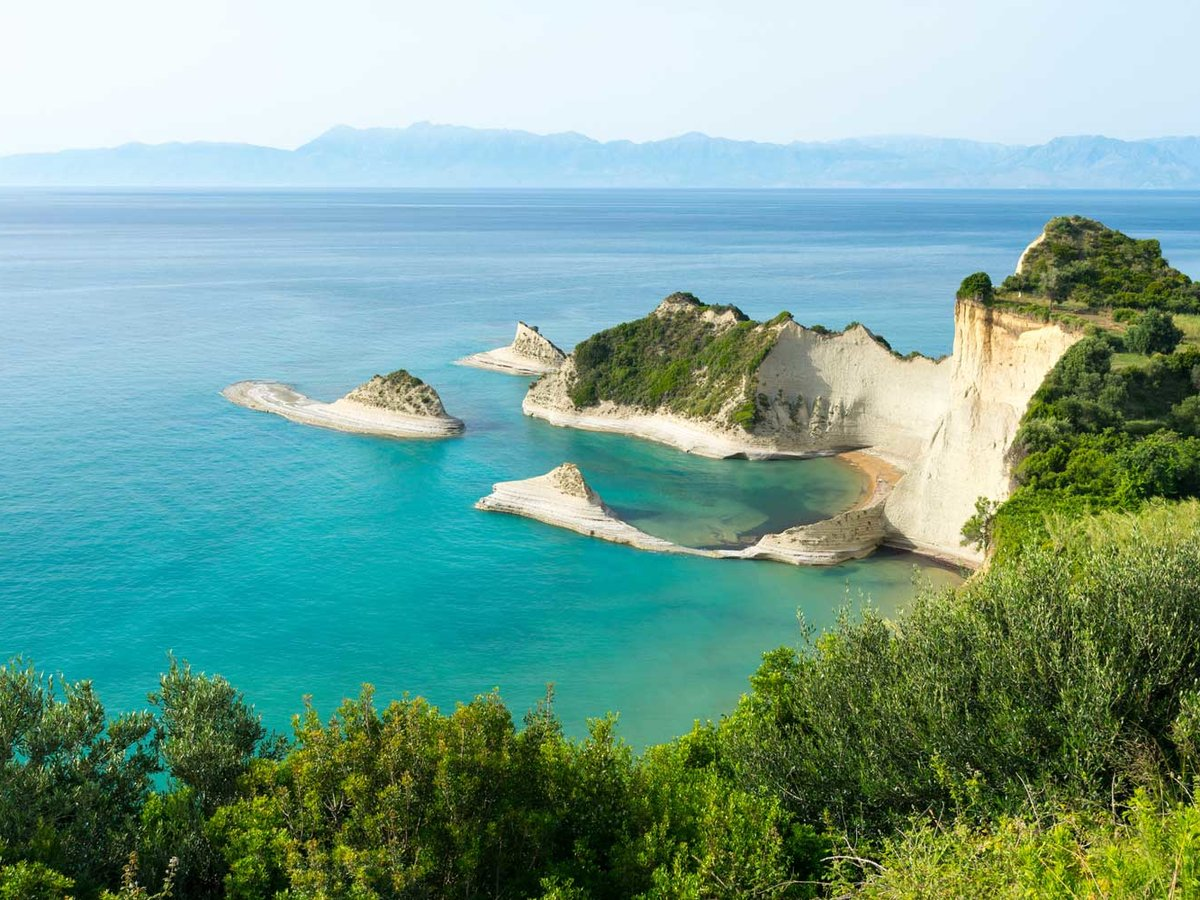 Corfu island - Cape Drastis, Greece