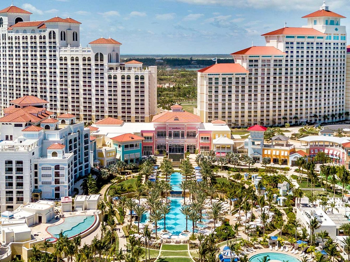Grand Hyatt Baha Mar aerial view