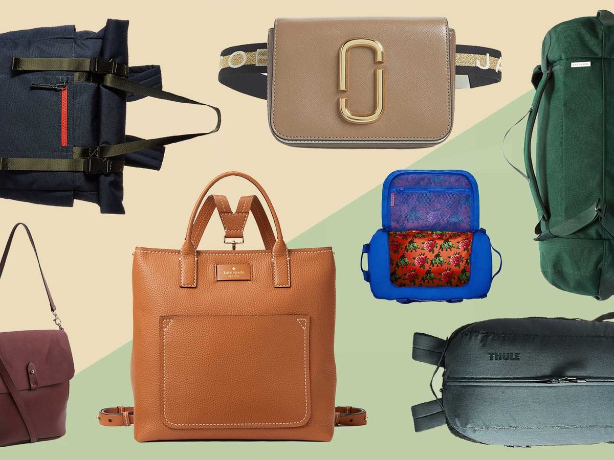Convertible bags that you can carry more than one way, as a backpack, tote, duffel bag, or purse