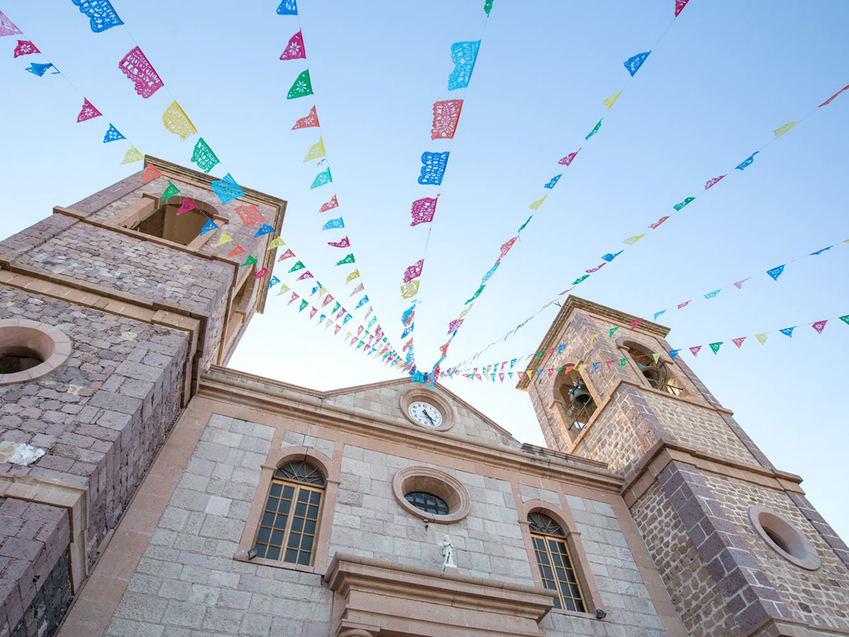 Cathedral, La Paz, Mexico