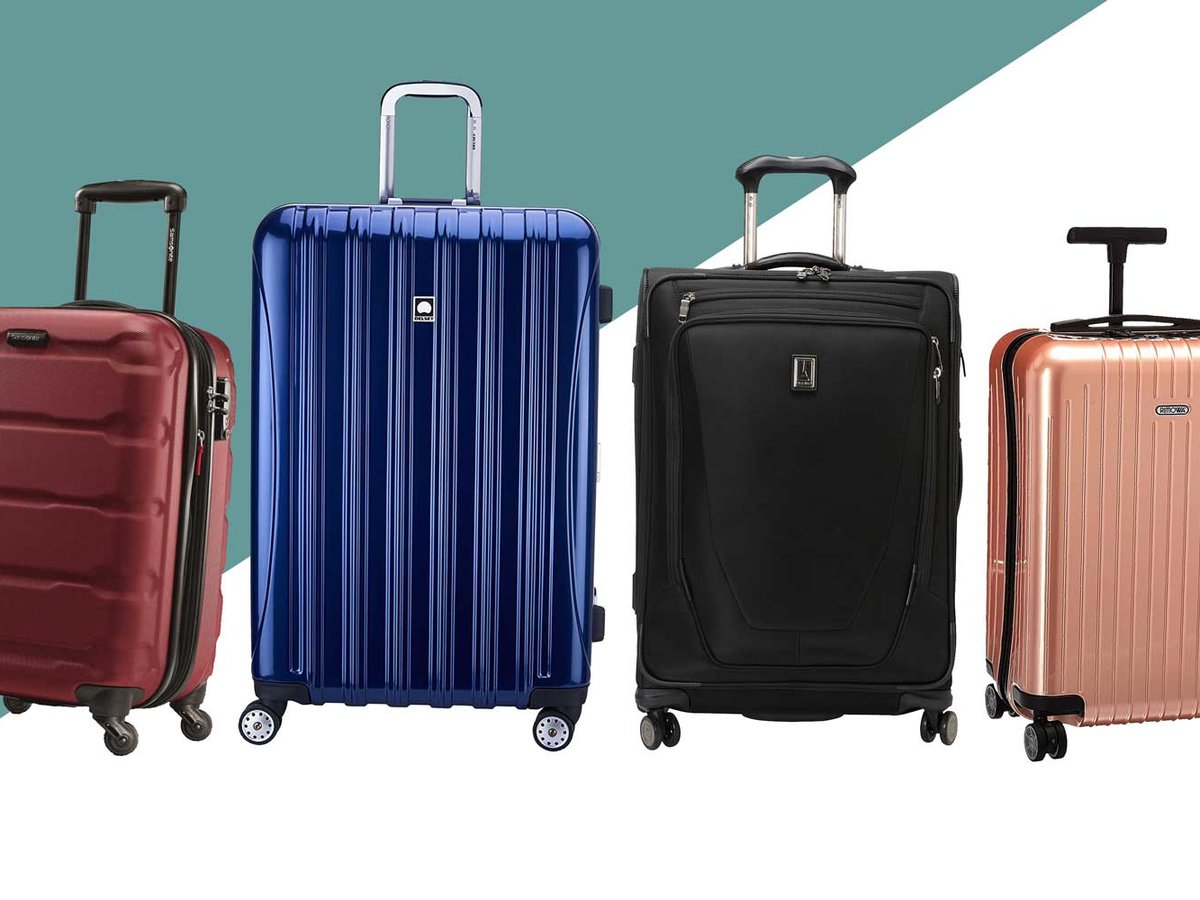 Lightweight travel suitcases baggage