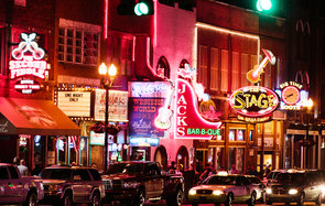 music, city, Nashville, Tennessee