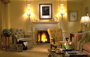 The Taj Boston Hotel Fireplace