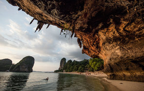 Cliffs at Railay Beach, Thailand